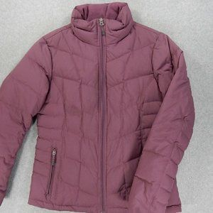 Lands End Goose Down Insulated Coat (Womens Small)